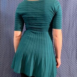 Candie's Dresses - Green sweater dress